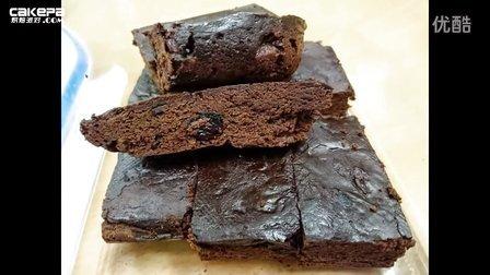 [小汤的甜点食谱]10分钟学会做--布朗尼黑森林蛋糕
