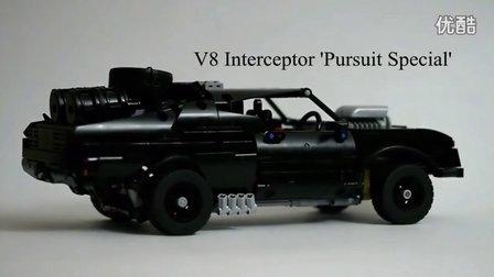 "[MOC解析]乐高科技版""疯狂的麦克斯4-狂暴之路""V8拦截者'Pursuit Special'"