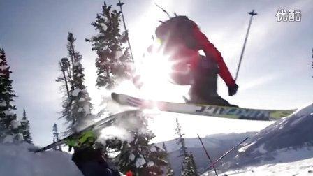 享受自由式滑雪必须get的神技,太会玩儿了!