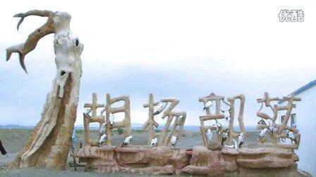 在克拉玛依的戈壁滩上遛达