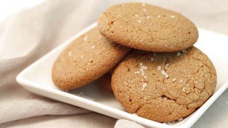 不用面粉的特殊饼干:花生酱饼干 03