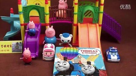 托马斯和他的朋友们 托马斯小火车 益智拼图 早教玩具 珀利变形警车 海底小纵队 小猪佩奇