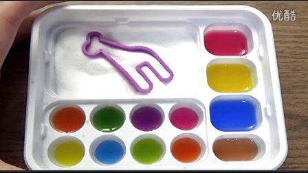 多米娘亲の食玩1  五颜六色的汽水软糖 填色软糖 日本食玩(可食) 粉红猪佩琦1