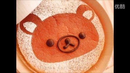 【喵博搬运】【食用系列】食玩实体化!轻松熊软蛋糕(๑・ิω・ิ)۶
