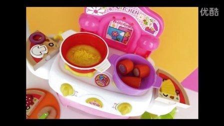 过家家玩具, 玩具炉,烘烤鸡,比萨玩具,玩具面条 水果切切看 Toy Oven