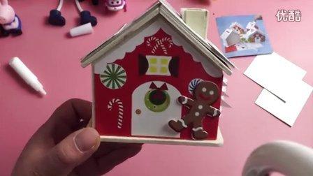 大头儿子小头爸爸 托马斯和他的朋友们 粉红猪小妹 peppa pig 小猪佩奇 熊出没之冬日乐翻天 超级飞侠 圣诞礼物 圣诞屋 幼儿手工diy 圣诞手工活动