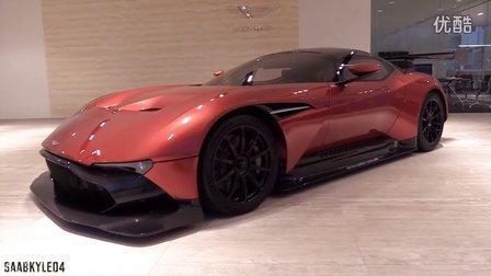 内外详拍2016阿斯顿马丁Aston Martin Vulcan