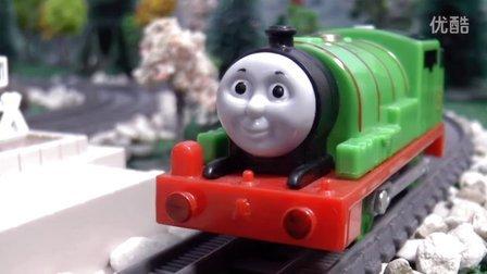 托马斯和他的朋友们 玩具小剧场 培西做调度员搞砸了 Thomas