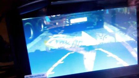 货车专用无线载频倒车影像系统安装视频-重汽挂车晚上效果