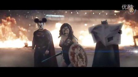 《蝙蝠侠大战超人》恶搞预告片