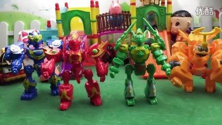 宣宇爱玩亲子游戏 2016 斗龙战士3之龙印之战玩具 斗龙战士3之龙印之战玩具
