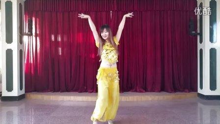 [舞媚娘]分解教学【印度亲嘴歌】【kiss】【天使之吻】广场舞 肚皮舞 年会舞蹈