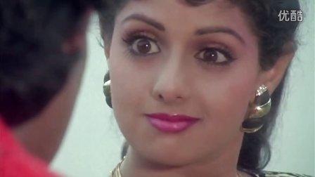 印度电影歌舞:印度巨星希里黛玉Sridevi&Mithun活力歌舞- Waqt Ki Awaz -Ladki Akeli Tu