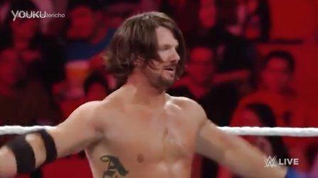 AJ斯塔尔斯Raw首秀vs. Y2J