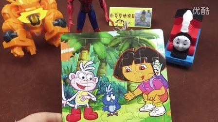 冰雪奇缘 雪宝 托马斯和他的朋友们 斗龙战士3 爱探险的朵拉 蓝鸟宝宝找家 智力拼图 早教玩具