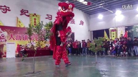2016 大瀝鎮 傳統獅大賽 - 太平西村@獅子出洞