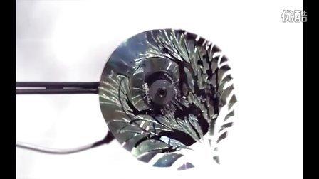 170000帧下看CD粉碎,仿佛看到时空扭曲!