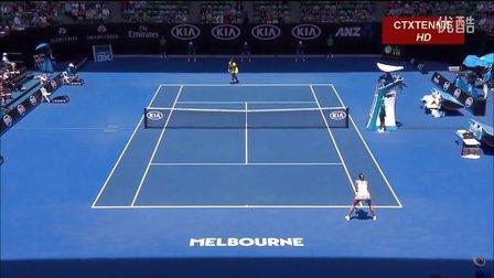 2016澳大利亚网球公开赛女单QF 莎拉波娃VS小威廉姆斯 (自制HL)