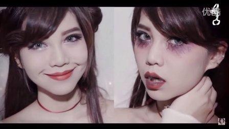 简单万圣节妆容 化妆教程 可爱Easy Halloween makeup l Cute Vampire