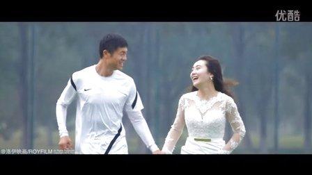 足球运动员 陈子介七年爱情长跑