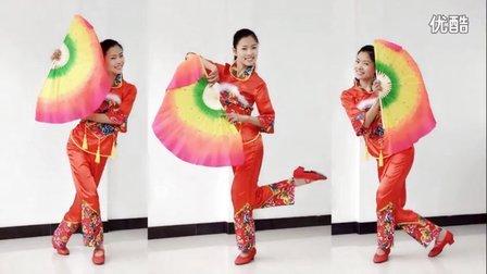 新生代广场舞 最亲的人(扇子舞附背面)编舞陈敏