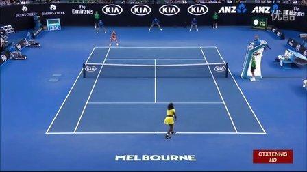 2016澳大利亚网球公开赛女单决赛 科贝尔VS小威廉姆斯 (自制HL)
