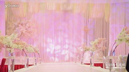 15.12.12 绿地福朋喜来登 P&Z裸粉色主题婚礼 合肥费拉婚礼定制