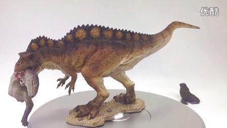 初丁模玩分享07侏罗纪公园侏罗纪世界REBOR高棘龙