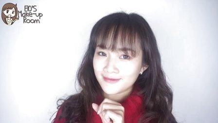 新年妆容第二弹~魅力桃花妆