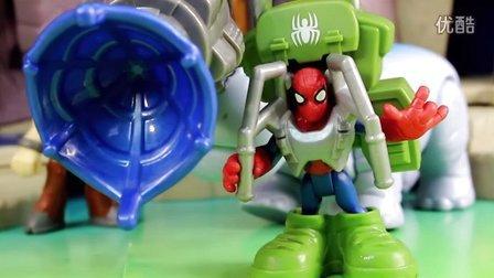 漫威超级英雄 绿巨人浩克&蜘蛛侠 飞行套装玩具