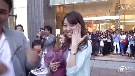日本大阪——超级好看的求婚视频,女友毫不知情