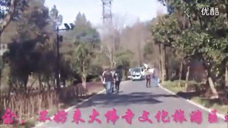 观光车上去旅行之二---大佛寺正月初三实拍游记