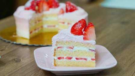 【喵博搬运】【食用系列】草莓蛋糕( ゚∀゚) ノ♡