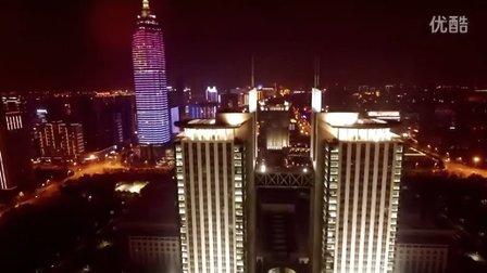 大疆航拍 常州市双子楼夜景