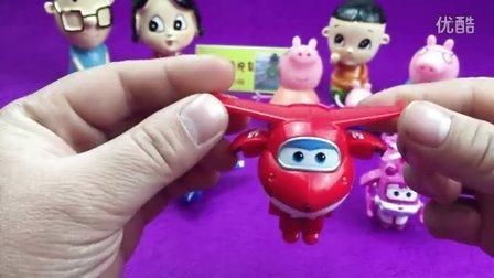 超级飞侠玩具 小飞侠大变形机器人 乐迪小爱酷飞多多 大头儿子小头爸爸 小猪佩奇 哆啦a梦