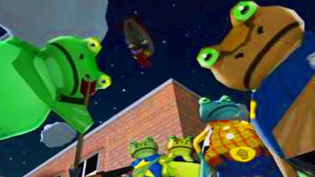 【屌德斯&小熙】 模拟青蛙 爆笑双人模式 打开新世界大门进入宇宙空间站