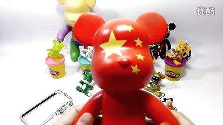 么么熊大家族公仔玩偶