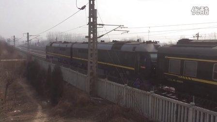客车特5687(北京-秦皇岛)蓟县南站2道通过