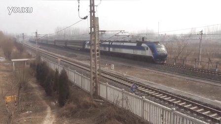 客车特5686(秦皇岛-北京) 别山站1道通过
