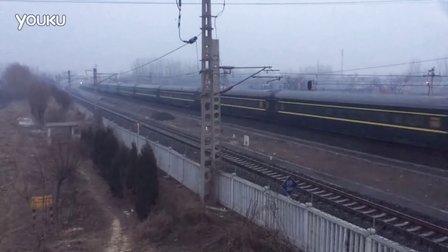客车直622(沈阳北-北京西)别山站1道通过
