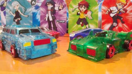 【魔力玩具秀】泰坦巨人, 冷月血魔 魔幻车神自动爆裂变形玩具车机器人