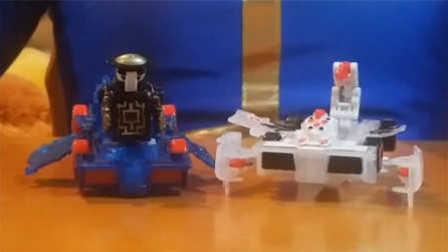 【魔力玩具秀】暗夜僵尸, 巨毒伏蝎(剧毒伏蝎)对比 魔幻车神自动爆裂变形玩具车机器人