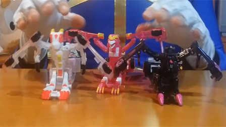 【魔力玩具秀】疾风迅龙, 涅槃凤凰, 飞翼天马对比 魔幻车神自动爆裂变形玩具车机器人