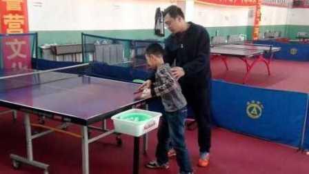 《乒乓球技术训练》正手攻球及正手拉冲强化练习