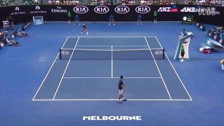 2016澳大利亚网球公开赛男单QF 德约科维奇VS锦织圭 HL