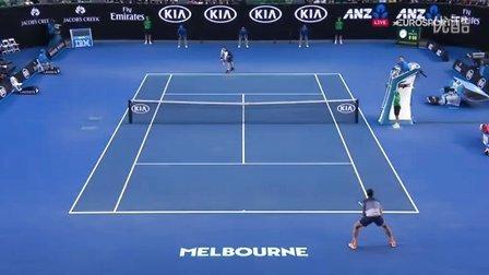 2016澳大利亚网球公开赛男单SF 穆雷VS拉奥尼奇 HL