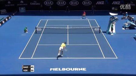 2016澳大利亚网球公开赛男单R1 纳达尔VS沃达斯科 HL