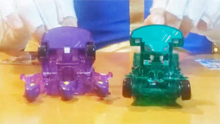 【魔力玩具秀】三头神蛇, 毒孽蛇王 对比 魔幻车神自动爆裂变形玩具车机器人