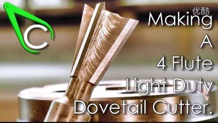 Flute Light Duty Dovetail Cutter (720p)
