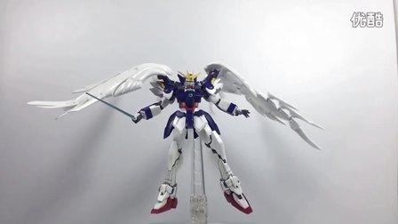 日文拍摄 高达ROBOT魂  零式飞翼掉毛机WING GUNDAM ZERO 无尽的华尔兹